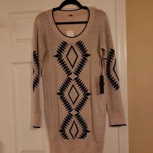 Oatmeal sweater dress